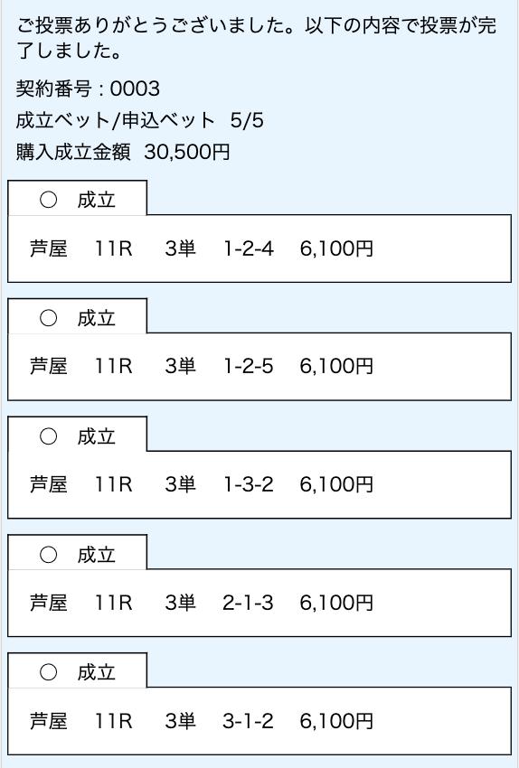 競艇研究エース有料予想2レース目