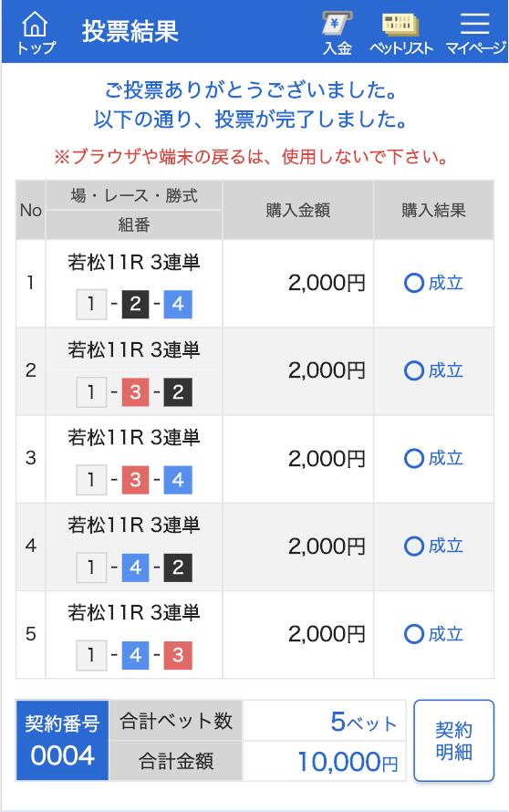 競艇チャンピオン有料11月3日舟券