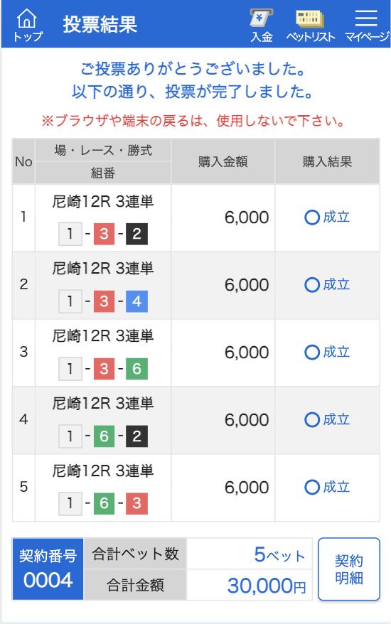 競艇サラリーマン2021年01月06日有料予想2レース目舟券