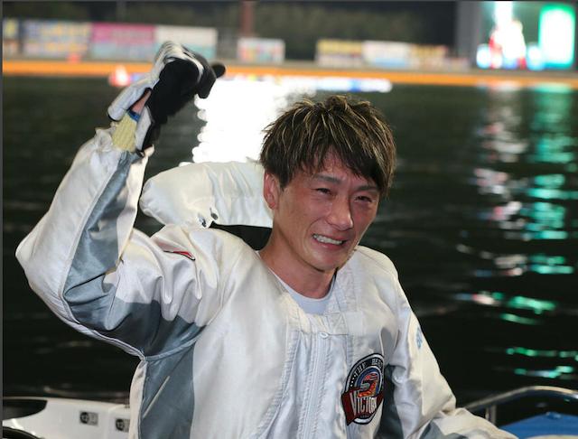 ボートレースオールスター2021年優勝時・峰竜太選手