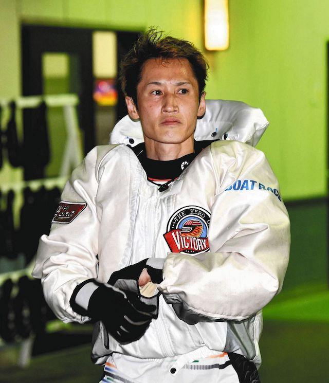 ボートレースオールスター2021年・白井英治選手